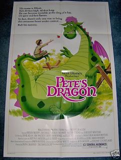 Petes Dragon R 84 Helen Reddy 1sheet Mint Unused