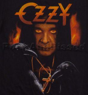 osbourne hell ravens t shirt screen printed t shirt official