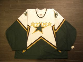 Dallas Stars 2005 2007 White Jersey Coyotes Hedberg Turco Smith