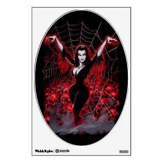 Web of Vampira Spider Lady Wall Graphic