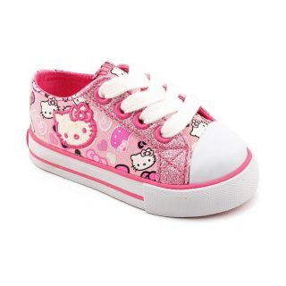 Hello Kitty Lil Lacey Toddler Girls Size 5 Pink Athletic Sneakers