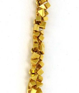 Hefty 18K Solid Gold 1 8 cts Diamonds Ladies Necklace