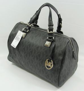 Michael Kors Grayson Monogram Jet Set Large Satchel Tote Hand Bag