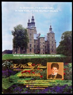 1989 Helmsley Palace Hotel New York Magazine Ad