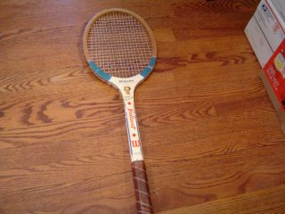 Used Wilson Valiant Mary Hardwick Model Tennis Racket