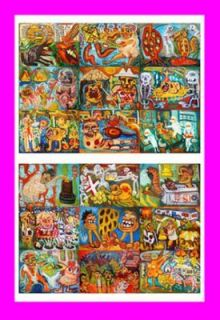 Hari Pooper Art Brut Trading Card Raw Elisa ACEO