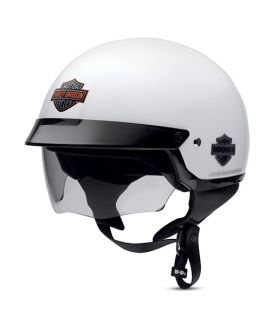 Harley Davidson Contention Sun Shield Half Helmet