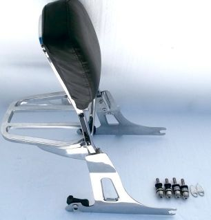 Harley Davidson Dyna Detachable Sissybar Backrest Luggage Rack w