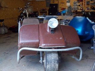 Harley Davidson Golf Cart for Parts