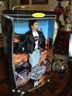 Harley Davidson Ken Doll MIB Barbie Collection