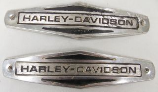 1966 1971 Vintage Harley Davidson Gas Tank Emblems Part Number 61771
