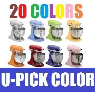 New KitchenAid Artisan 5 Qt Stand Mixer KSM150PS All Colors Tilt Head