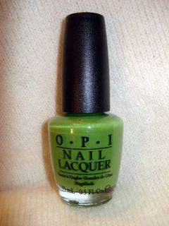 OPI NAIL POLISH GREEN WICH VILLAGE B69 Brights Collection Exquisite So