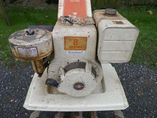 BRIGGS AND STRATTON 8 HP HORIZONTAL SHAFT ENGINE MOTOR 190402