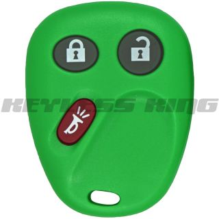 New Green GM Keyless Remote Key Fob Clicker Free Programming