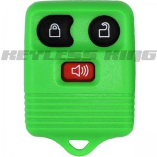 NEW GREEN FORD KEYLESS REMOTE KEY FOB CLICKER TRANSMITTER + FREE