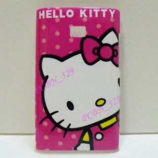 Hello Kitty R Phone Case Screen Protector for LG Optimus L3 E400