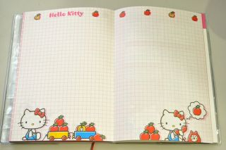 2013 Hello Kitty Schedule Book Daily Planner Agenda Diary Classic A6 w
