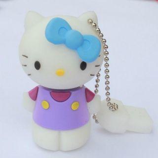 3D 8GB Hello Kitty USB 2 0 Flash Drive U Disk Memory Pen Drive Pink