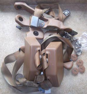 1982 83 84 85 86 87 88 89 90 91 GMC chevy suburban SEAT BELT brown tan