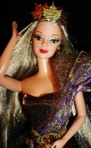 Autumn Harvest Fall Goddess OOAK Barbie Doll Fantasy