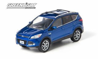 Greenlight Collectibles 1 43 Scale Deep Impact Blue 2013 Ford Escape