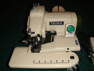 Tacsew T500 Metal Portable Blind Hem Chain Stitch Hemmer
