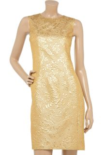 Moschino Metallic brocade dress   70% Off