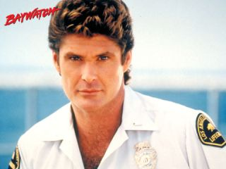 Lifeguard Los Angeles County Logo Embroidered Patch Hasselhoff