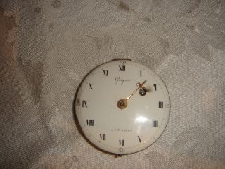 ANTIQUE FRENCH PARIS GREGSON FUSEE POCKET WATCH MOVEMENT FOR REPAIR OR