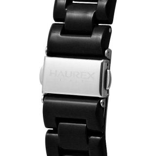 New Haurex Italy Womens Make Up Black Dial with Crystals Watch