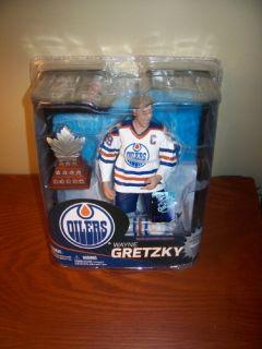 2012 Wayne Gretzky Edmonton Oilers McFarlane Figure