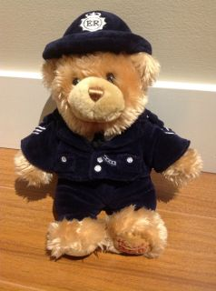 Harrods London Police Stuffed Bear 250th Anniversary Stuffed Teddy