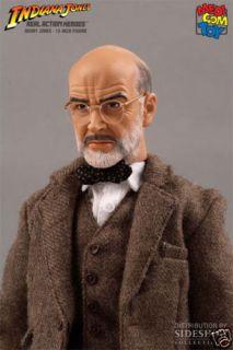 Indiana Jones Henry Jones RAH 12Figure Medicom Toy MIB
