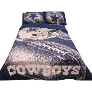Brand New NFL Dallas Cowboys Queen 5Pc Comforter Set Home