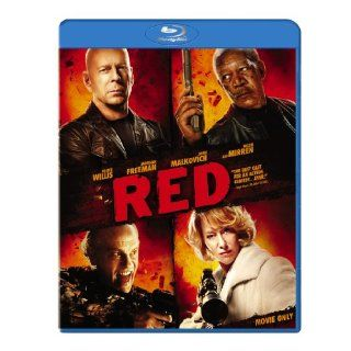 Red Blu ray (Movie Only Edition) Bruce Willis, John