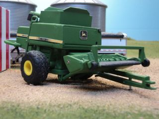 64 Custom John Deere 7721 Combine Farm Toy