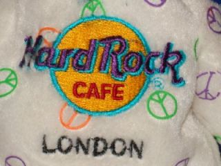 Hard Rock Cafe London Herrington Teddy Bear Collectible Limited