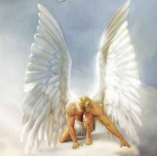 GRIGORI haunted items ANGEL IN LOVE watcher pendant angels white light
