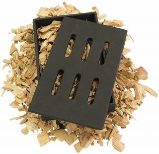 Grill Pro 150 Black Cast Iron Smoker Box for BBQ Smoking Chips