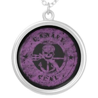 US NAVY SEALS SKULL/pink Jewelry
