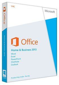 Office Home & Business 2013 Key Card 1PC/1User Software