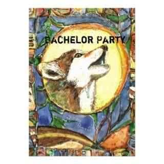 PMACarlson Bachelor Party Invitation