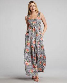 Haute Hippie Floral Print Jeans