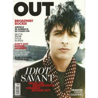 Out Magazine April 2010 Idiot Savant Billie Joe Armstrongs Unlikely