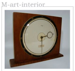 KIENZLE 20er Tischuhr   Gropius & Möller Era   Art Deco Bauhaus Clock