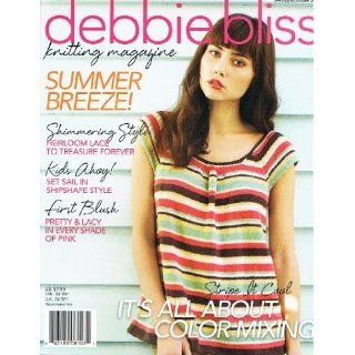 Debbie Bliss Knitting Magazine Spring/Summer 2012  Knitting Book from