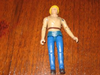 DUKES OF HAZZARD BO DUKE FIGURE MINT OFF CARD.