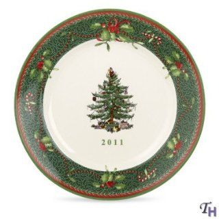Spode Christmas Tree Annual 2011 Collectors Plate, 8 Inch