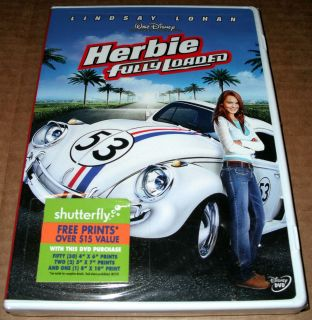 Herbie Fully Loaded DVD 2005 Lindsey Lohan Michael Keaton Matt Dillon